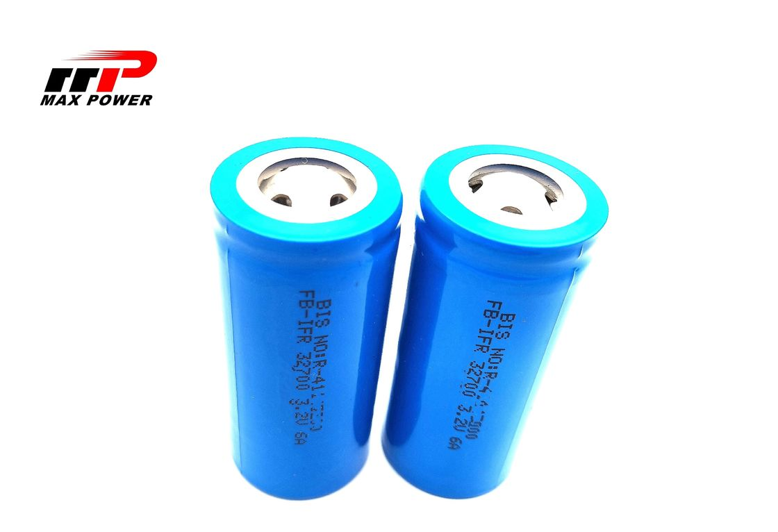 IFR32650 32700 3.2V 6000mAh 6AH Electric Vehicles LiFePO4 Lithium Battery with KC UL BIS