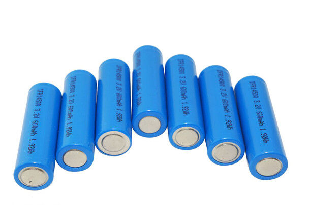 3.2V lithium LiFePO4 Battery 14500 500mAh Power Type For Grid Stabilization